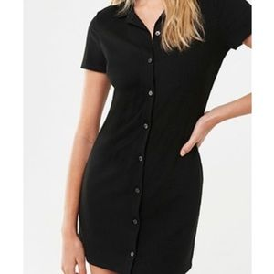 Forever 21 button up dress